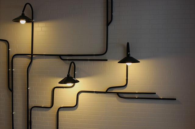 Lamper på veggen
